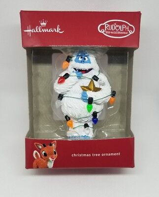 Bumble Abominable Snowman Ornament Rudolph Island of Misfit Toys Hallmark NEW