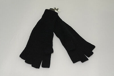 $45 NWT Halogen Women's Rib Knit 100% Cashmere Fingerless Gloves One Size