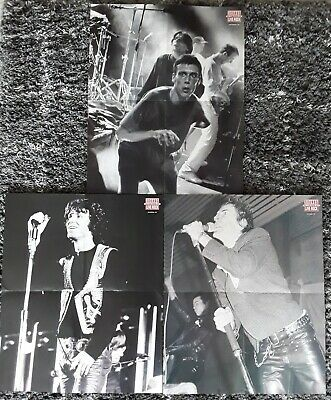 Sounds Magazines Posters x 3 - Sounds 30 Years Of Rock