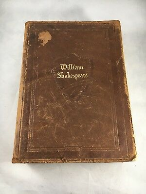 The Complete Works Of William Shakespeare Walter J. Black Soft Leather Book 1937