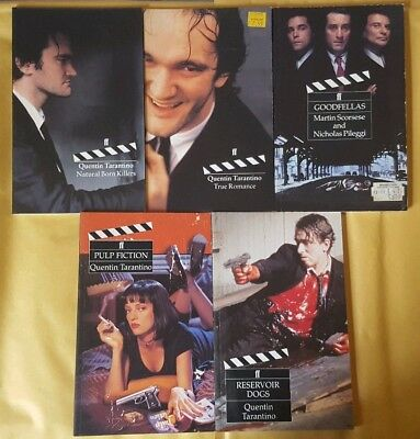 Faber & Faber Film Books. Goodfellas, Pulp Fiction, Reservior Dogs, True Romance
