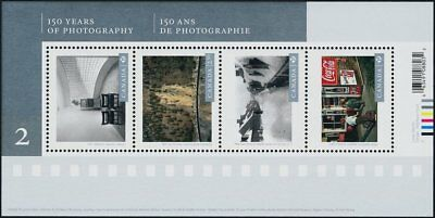 Canada Stamps - Souvenir Sheet of 4 - 2014, Canadian Photography #2757 - MNH
