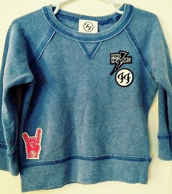 Foo Fighters Band Baby Sweatshirt With Patches 12 Months