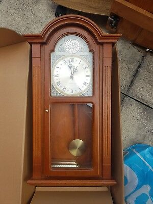 Tempest Fugit Vintage Looking Wall Clock Westminister Chime
