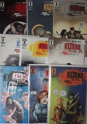 Hell and Back a Sin City Love Story #1 to #9 Complete FRANK MILLER Dark Horse