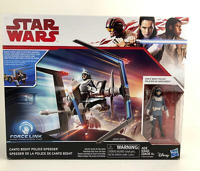Star Wars The Last Jedi (TLJ) Force Link Canto Bight Police Speeder - 3.75""