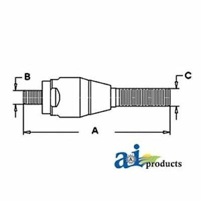 CAR49006 Ford NH Ball Joint (LH) for Models 3230, 3430, 3930, 4130, 4630, 4830