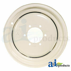 312906071 White Oliver Minneapolis Moline Front Wheel Rim for models 1355, 1365,