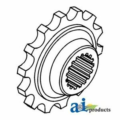 155533A Minneapolis Moline Rear Coupler Sprocket 14 Teeth 19 Spline