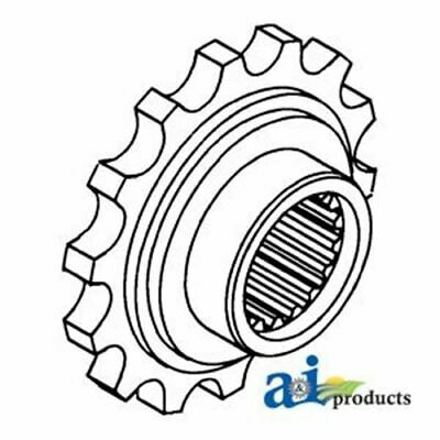 107415A Minneapolis Moline Front Coupler Sprocket 14 Teeth 30 Spline