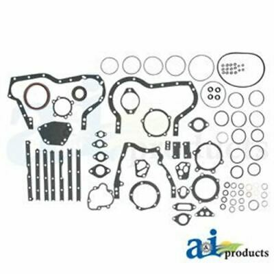 74008985 Allis Chalmers Lower with Seals Gasket Set Models 6060, 6080