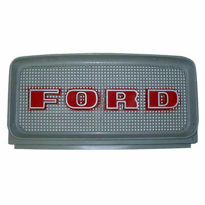 C9NN8A163AG Ford Front w/ Red Letters Grille Models 2000, 3000, 4000, 4200, 5000