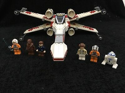 Lego Star Wars 6212 X Wing Fighter Complete With Box And