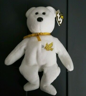 TY BEANIE BABIES HOLY BEARS with Tagged Bible religious church ... 54524e7db96