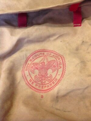 Vintage Boy Scouts Of America Backpack No. 1329 deluxe Yucca Pack Americana