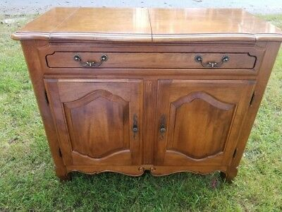 Ethan Allen Country French Flip Top Server Buffet - Beautiful Condition!