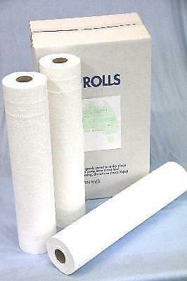 Paper Bed Sheet Roll Perforated 59cm x50M x 6 ROLLS( CARTON)
