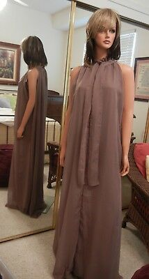 Double Layer Chiffon Dress, 2X-Large, New