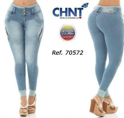 Authentic Colombian Jean Buttlift Pant Jeans levantacola Skinny Push Up 097