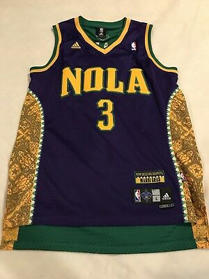ireland adidas chris paul new orleans mardi gras nola swingman sewn on nba  jersey l 2 5db239458
