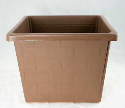 "Japanese Plastic Bonsai Training Pot / Home Garden Decor Planter 10""x 10""x 7.75"""