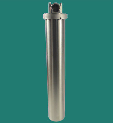 "304 Stainless Steel Filter Housing for 20"" Cartridges 1"" NPT Filtration"