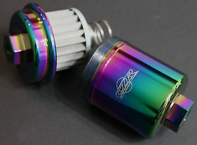 CZRracing racing fuel filter washable NEO CHROME for Honda Acura