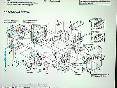 Genuine  Parts For  Sony Dcr-Ip5 Ip7