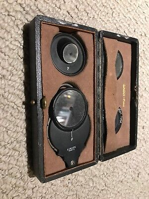 Antique Giroux Ophthalmoscope Eye Doctor Tool
