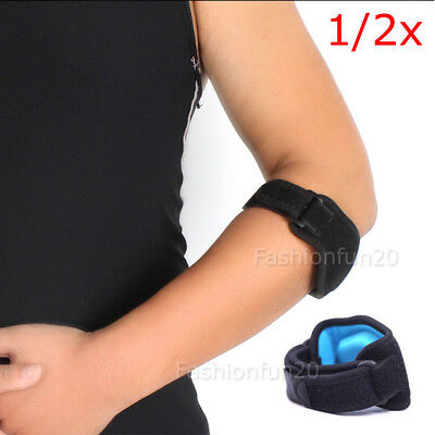 NEW Adjustable Tennis/Golf Elbow Support Brace Strap Band Forearm Protection OZ