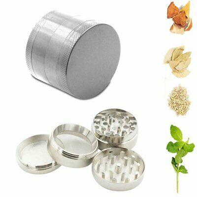 50*40MM Tobacco Herb Spice Grinder 4 Piece Herbal Alloy Smoke Chromium Crusher