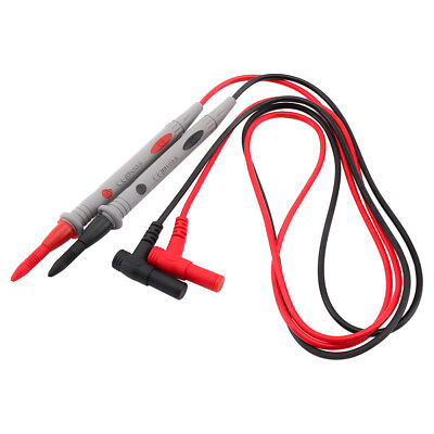 Needle Tipped Tip Multimeter Pen Probes Test Leads Tester 1000V 20A 110cm Cable
