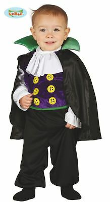 Toddlers Boys Baby Vampire Dracula Halloween Fancy Dress Costume Babies Outfit