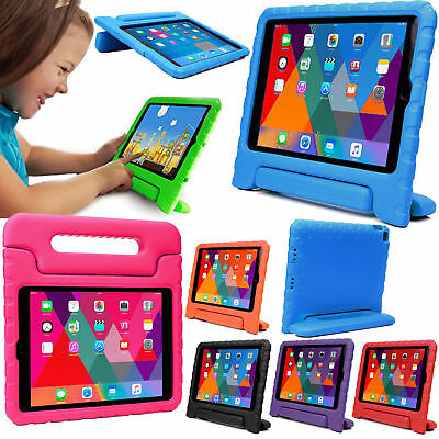 Kids Childrens Shockproof Foam Handle Stand Case Cover For iPad Pro 9.7,Air,Mini