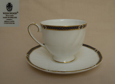 """Wedgwood """"Royal Lapis"""" COFFEE CUP AND SAUCER"""