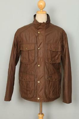 BARBOUR New Utility WAXED Jacket Brown Size Medium