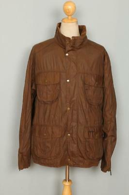 BARBOUR Flyweight Utility WAXED Jacket Brown Size XXL
