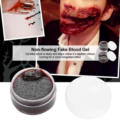 Face Body Paint Oil Fake Clot Blood Gel Vampire Scars Halloween Bruises