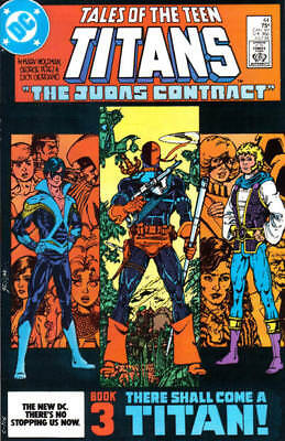Tales of the Teen Titans 44 (1984) Wolfman Perez first Nightwing appearance