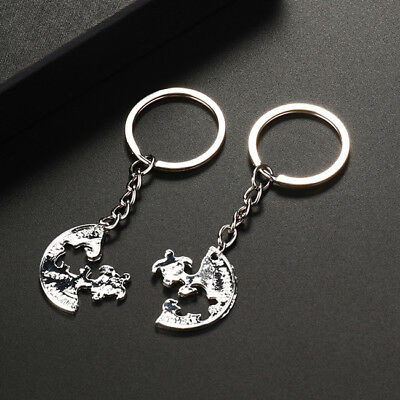 2PCS Animal Sea Turtle Tortoise Key Chains AUTO Key Chain Ring Charm Gifts one