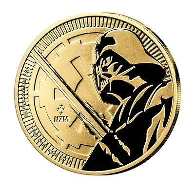 Niue 250 2018 St Star Wars Darth Vader 999er Gold 1oz ø32mm Eur