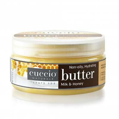 CUCCIO NATURALE 24 HOUR HYDRATING BUTTER BLEND MILK AND HONEY  8oz TUB  (3052)
