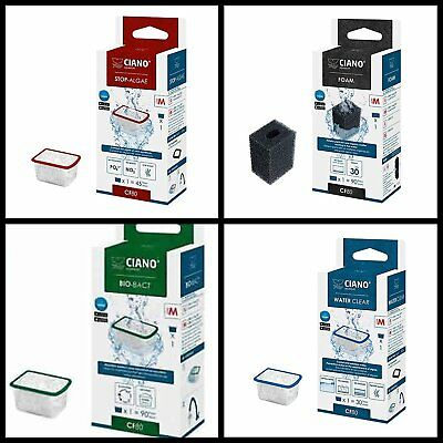 Ciano Sponge Filter Foams Cartridges Cf40 Cf80, Aqua 60 & 80