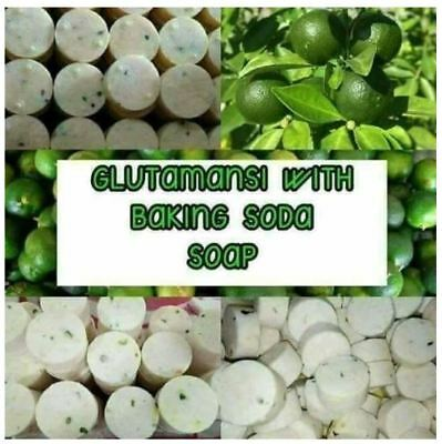 GlutaMansi Soap 100% NATURAL DARK SPOTS REMOVER Safe & Effective Skin Lightening
