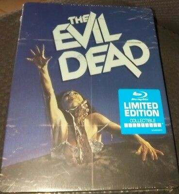 The Evil Dead (Blu-ray Disc) [Limited Edition Steelbook] Brand New Collectible