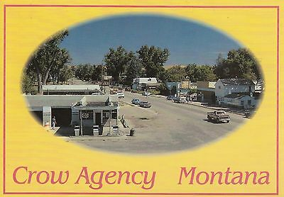 MONTANA CROW INDIAN RESERVATION HEADQUARTERS Big Horn County
