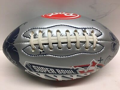 Post Cereal Super Bowl XXXVI PROMO FOOTBALL *RARE*  RAMS PATRIOTS