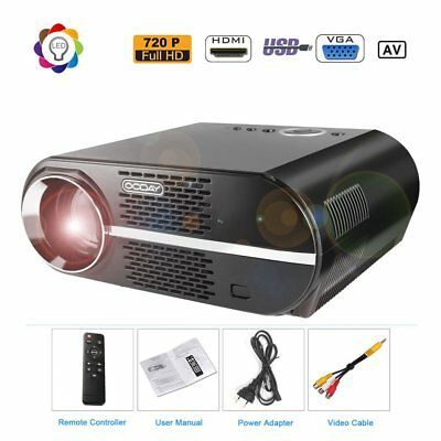 720P-HD Video Projector Portable LCD Projector 3200 Lumen Home HIFI Cinema  GP90