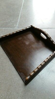 Vintage or Antique wooden Crumb tray