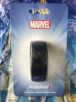 Disney World MagicBand Magic Band BLACK PANTHER Purple Open Edition MARVEL